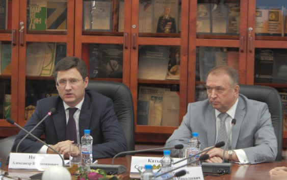 Встреча Министра энергетики РФ А.В. Новака с руководством и активом комитетов ТПП РФ