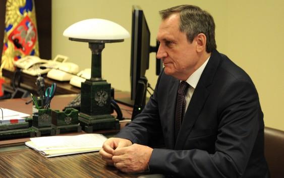 Встреча с руководителем компании «РусГидро» Николаем Шульгиновым