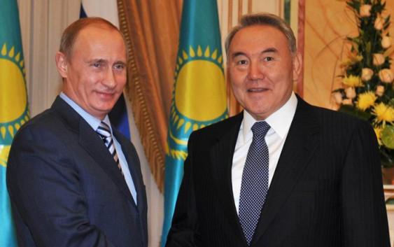 Путин и Назарбаев подписали документ о разграничении дна части Каспия