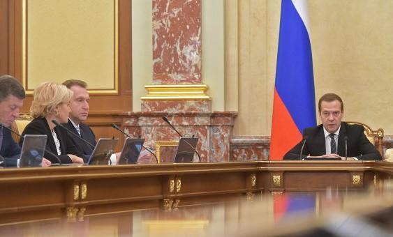 Медведев вынес замечания замглав четырех российских министерств