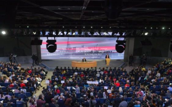 Путин ответил на вопросы журналистов о развитии российской энергетики