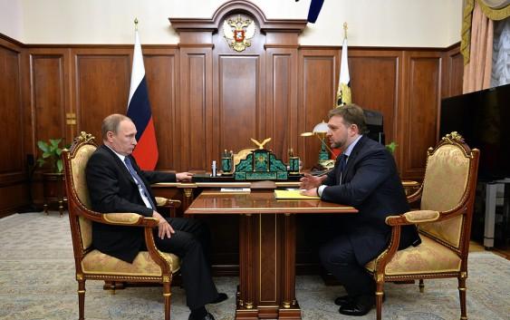 Владимир Путин обсудил с губернатором Кировской области Никитой Белых развитие региона