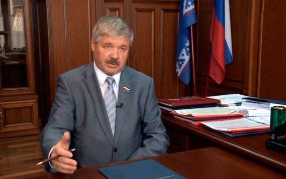 Юрий Неёлов приветствует участников конференции АРКТИКА-2017