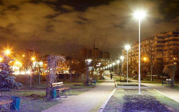В Московской области с начала года установлено и модернизировано около 4 тысяч точек наружного освещения