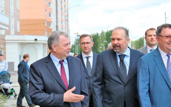 Михаил Мень побывал с рабочим визитом в Калужской области