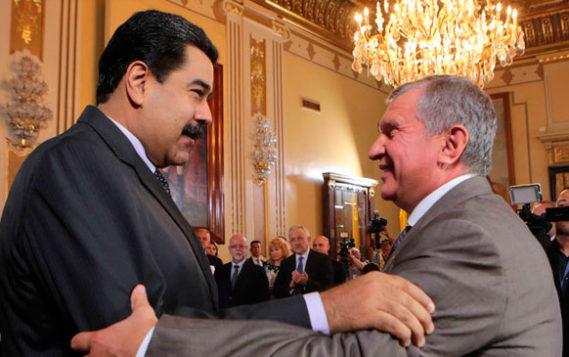 Мадуро обсудил с Сечиным детали договоренностей в энергетике