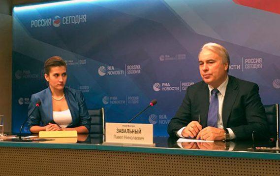 Пресс-конференция председателя Комитета ГД РФ по энергетика Павла Завального