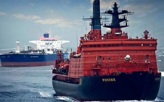 Условия судоходства в Арктике планируют вернуть к советским показателям