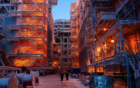 Путин прибыл на Ямал, где обсудит проекты по производству СПГ