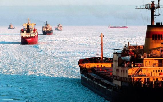 В 2017 г объем перевозок по Северному морскому пути вырос почти на 43%. И это только начало