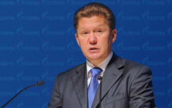 Миллер: за рубежом растет спрос на российский газ