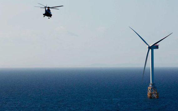 Первая плавучая ветровая ферма вышла на максимальную эффективность
