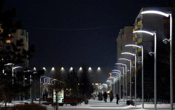 «Умные» фонари установили на улицах Москвы