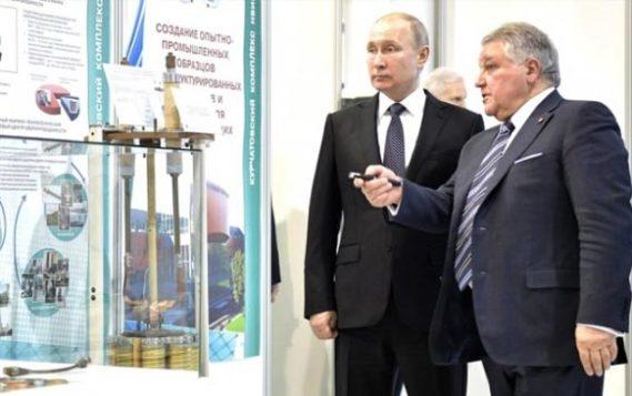 Как Владимир Путин понял, что ядром к ядру ядра не увидать