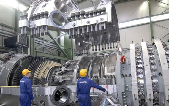 Компания Siemens начала поставки турбин для строящейся Грозненской ТЭС