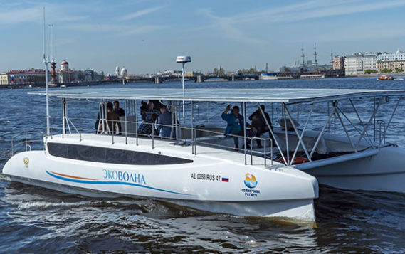 Уникальный экологический катамаран отправляется в экспедицию: от Балтики до Каспия