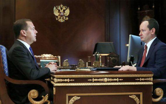 Дмитрий Медведев обсудил энергоснабжение страны с главой «Россетей»