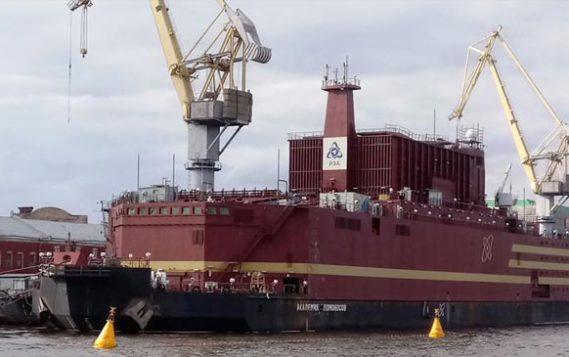 На Чукотку отправилось судно со стройматериалами для плавучей АЭС