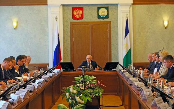 Рустэм Хамитов провёл заседание оргкомитета по подготовке к 100-летию образования Республики Башкортостан