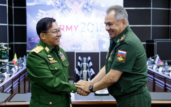 Взаимодействие в оборонной сфере является ключевым в отношениях РФ и Мьянмы — Шойгу