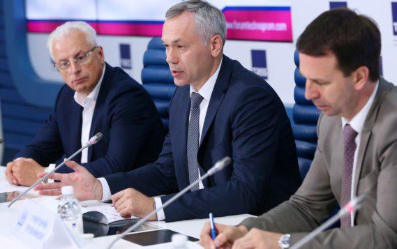 Глава Новосибирской области Андрей Травников: «Основная идея «Технопрома» — это укрепление связки между наукой и индустрией»