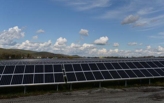 Первая солнечная электростанция в Калмыкии заработает в 2019 году