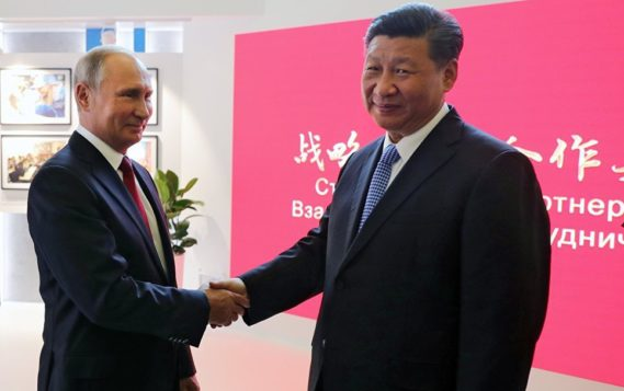 Путин принял приглашение главы КНР на саммит «Один пояс, один путь»