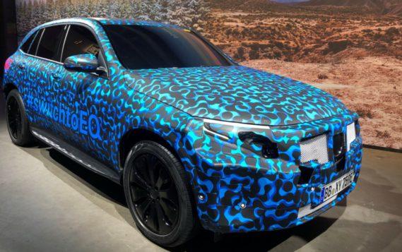 Mercedes представил нового конкурента электромобиля Tesla X