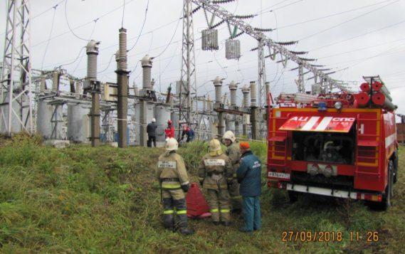 В Тульской энергосистеме прошли учения по ликвидации аварии в условиях низких температур наружного воздуха
