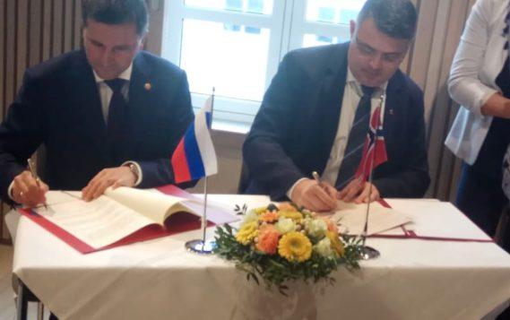 Глава Минприроды России и Министр нефти и энергетики Норвегии подписали Соглашение о сейсморазведке на шельфе Баренцева моря