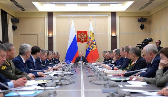 На заседании Совета Безопасности Российской Федерации утверждена новая Доктрина энергобезопасности России