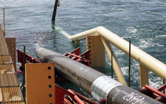 Глубоководную укладку труб «Северного потока-2» начнут на следующей неделе