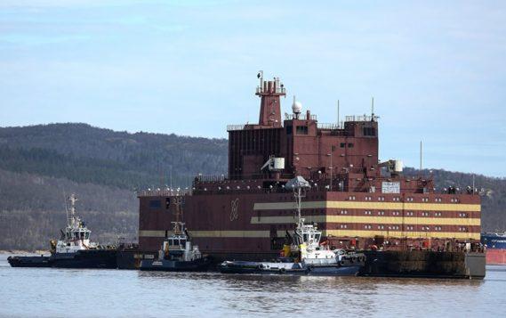 На атомном плавучем энергоблоке «Академик Ломоносов» состоялся энергетический пуск первой реакторной установки