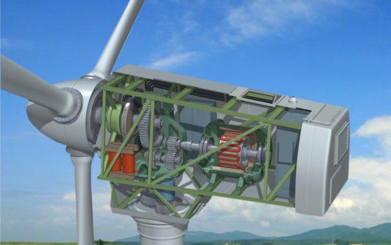 Компания EcoSwing построила первый ветрогенератор, в турбине которого использованы сверхпроводники