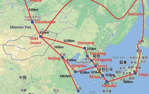 Для создания энергокольца в Северо-Восточной Азии потребуется до $7,6 млрд