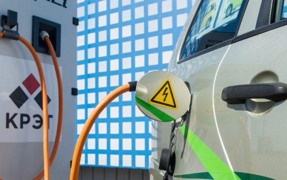 Более 100 зарядных станций для электротранспорта запустили в Подмосковье