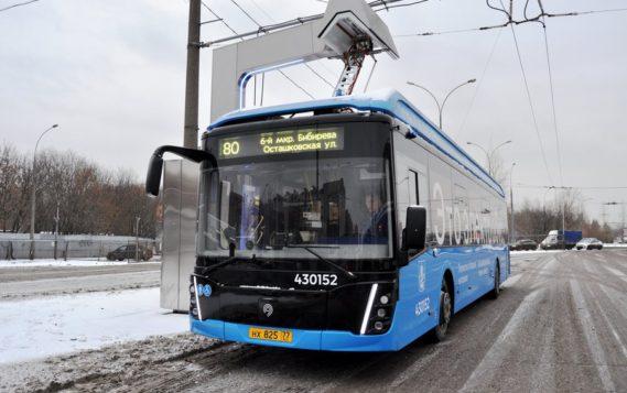 Электробусы запустили на маршруте на востоке Москвы