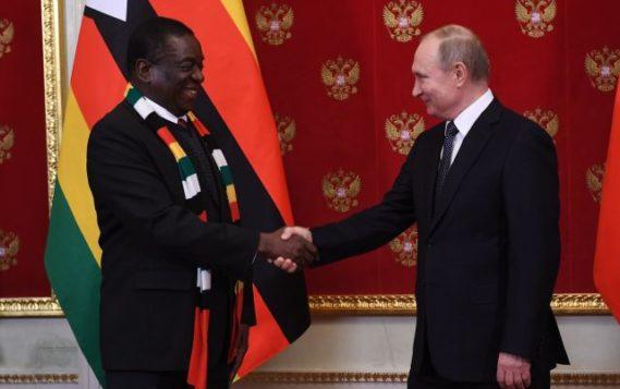 Российские энергетические компании приглашены президентом Зимбабве к сотрудничеству