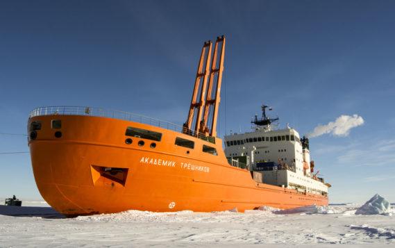 «Академик Трешников» отправился в арктическую экспедицию для отработки дрейфа. И не только
