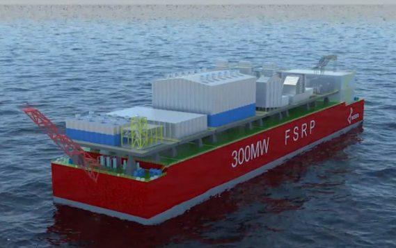 «Айсберг» работает над плавучей ТЭС на сжиженном газе
