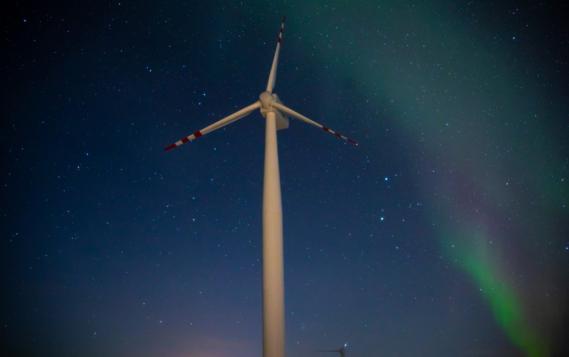 Ветроэлектростанция в Тикси продемонстрировала эффективную работу в условиях арктической зимы