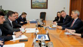 Александр Новак встретился с Генеральным секретарем Мирового энергетического совета Кристофом Фраем