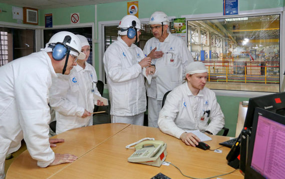 Эксперты отметили более 20 передовых практик в ходе визита на Смоленскую АЭС