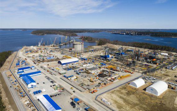 Инвестиции в строительство первой линии СПГ-завода в Высоцке составили 57 млрд рублей