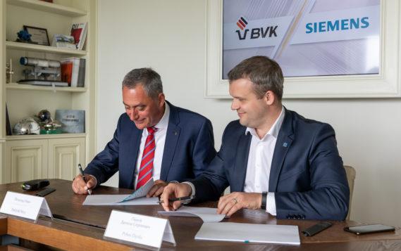 Компании «Сименс» и «БВК» подписали первый договор на поставку продукции