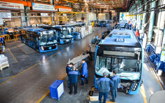 НЕФАЗ развивает производство автобусов и электробусов