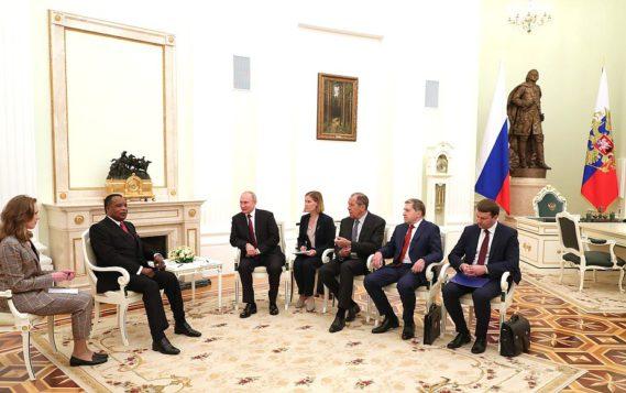 """Александр Новак: """"Энергетика является очень перспективным направлением двустороннего партнерства России и Конго"""""""