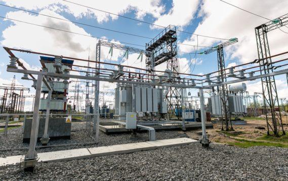 «Архэнерго» продолжает реконструкцию узловой для энергосистемы региона подстанции 110 кВ