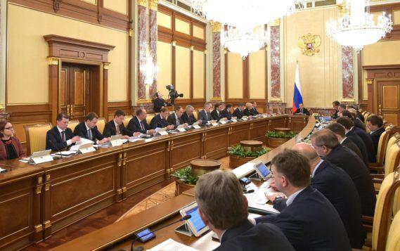 Александр Новак доложил о ситуации с экспортом нефти по нефтепроводу «Дружба» на заседании Правительства России