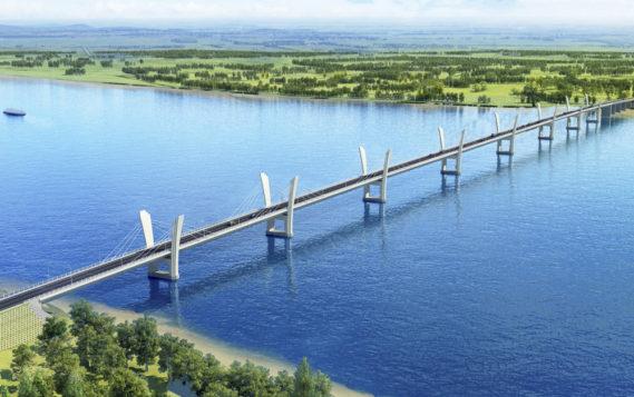 Соединены российская и китайская части второго трансграничного моста на Дальнем Востоке